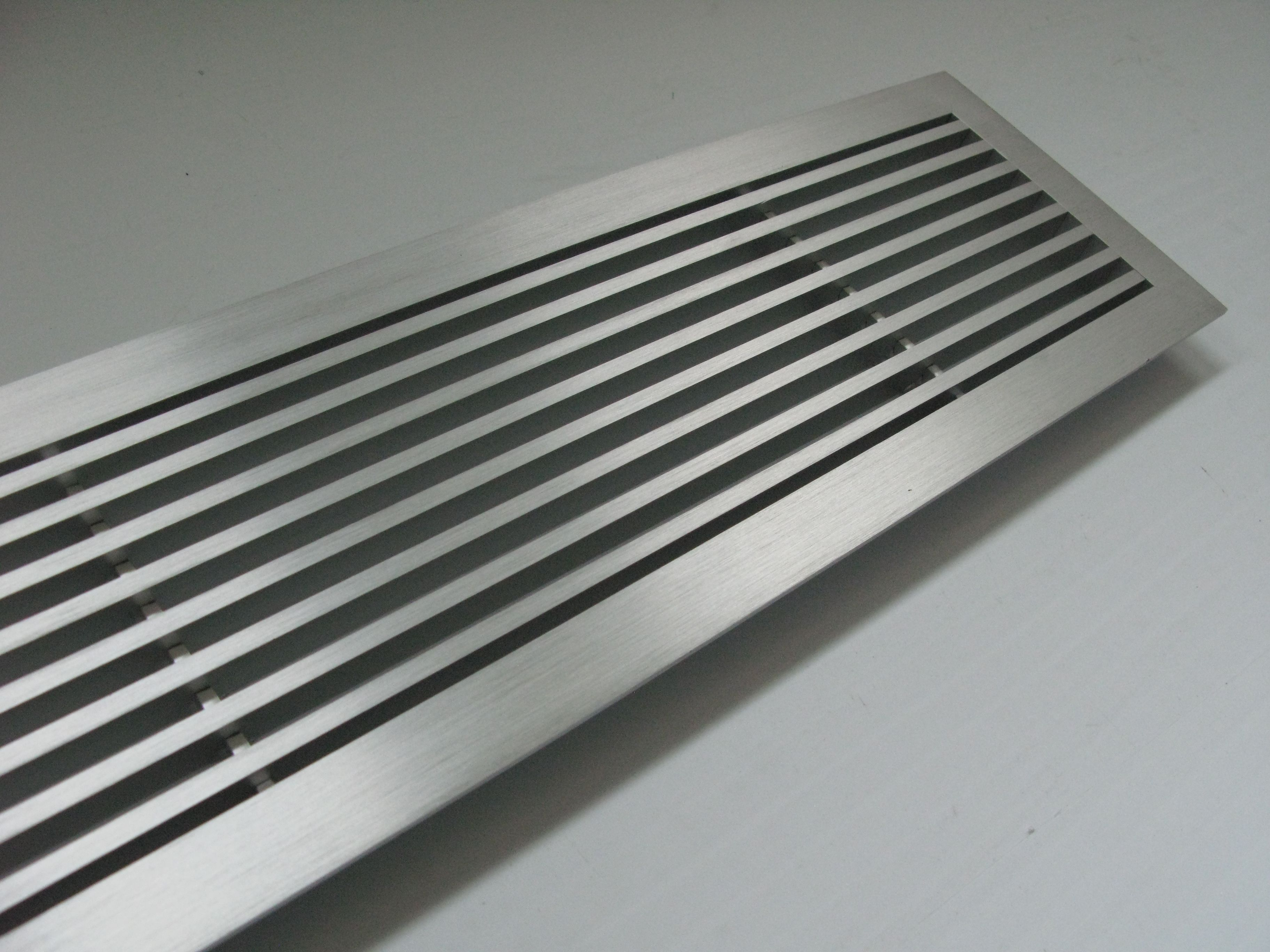 A Nice Metal Floor Grille With A Flange