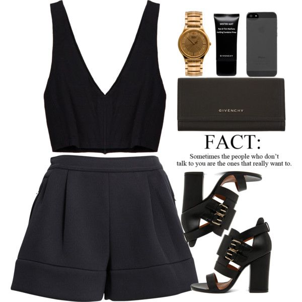 A fashion look from September 2014 featuring 3.1 Phillip Lim shorts, Givenchy shoes en Givenchy wallets. Browse and shop related looks.