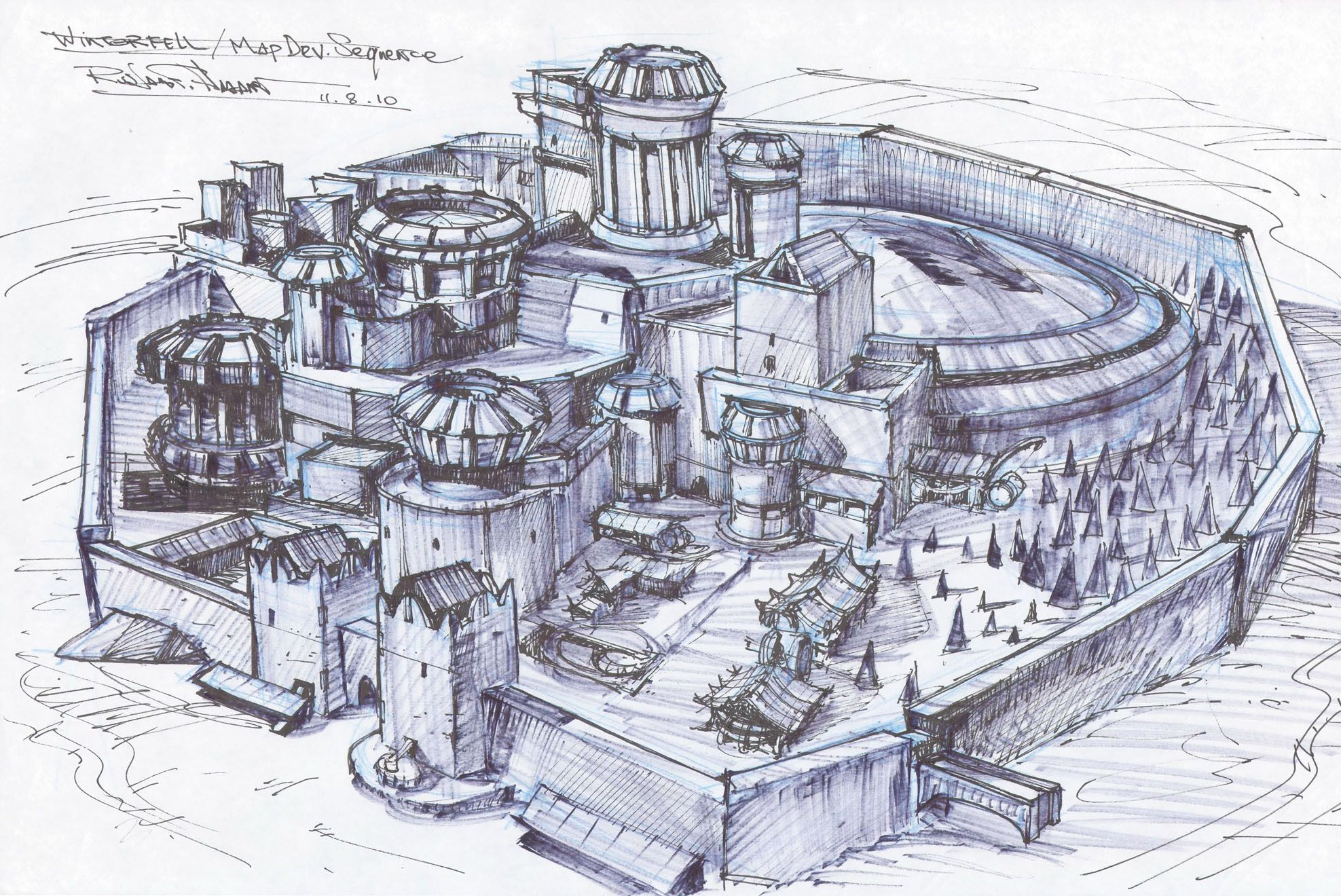 Winterfell sketch in 2020 | Game of thrones castles, Art of ... on spooksville map, downton abbey map, narnia map, bloodline map, got map, justified map, jericho map, qarth map, camelot map, walking dead map, a storm of swords map, gendry map, world map, star trek map, guild wars 2 map, clash of kings map, dallas map, valyria map, winterfell map, jersey shore map,