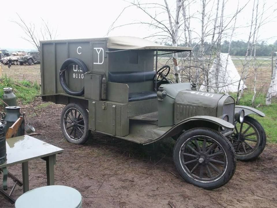 Ww1 Model T Ford Reenactor Display Car Ford Military Vehicles