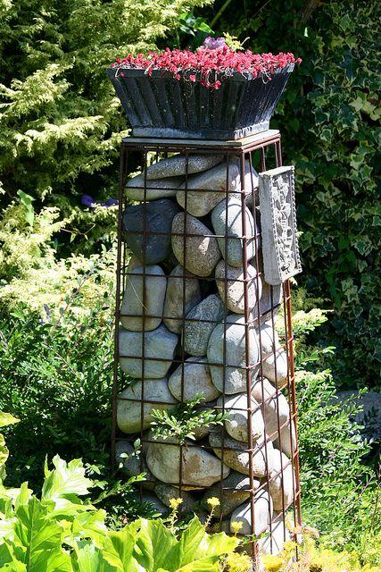 Reuse column columns for River rock columns
