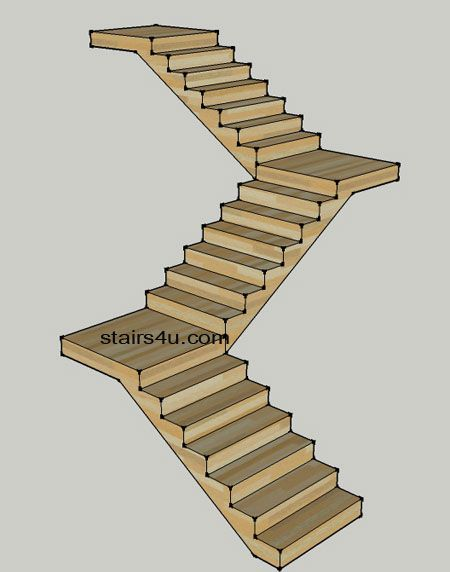 Best Stair Design Shaped If Looking Above Like The Letter Z 640 x 480