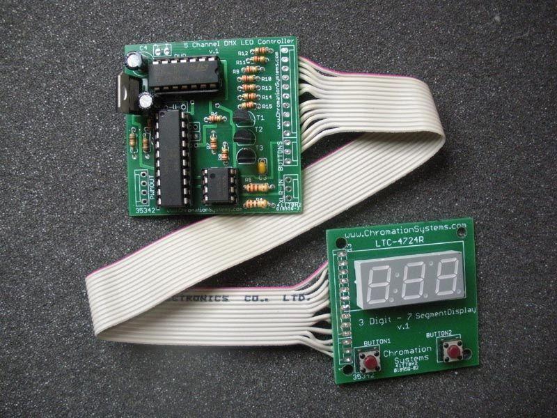 Dmx 512 Led Controller With Led Display Led Controller Dmx Led