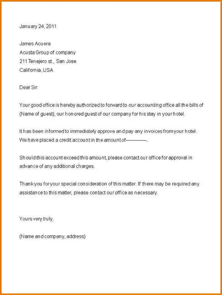 Authorization Letter Sample To Pick Up Authorization Letter