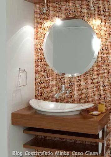 30 Dicas De Banheiros E Lavabos Decorados E Modernos