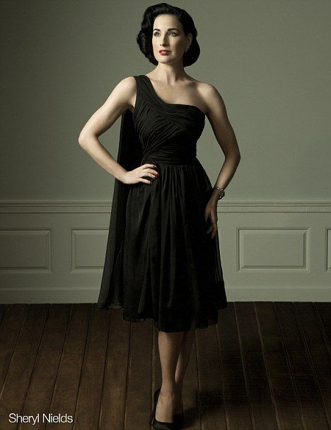 a5fad54ce A lovely gown from the Dita Von Teese Muse collection. don t like the  woman
