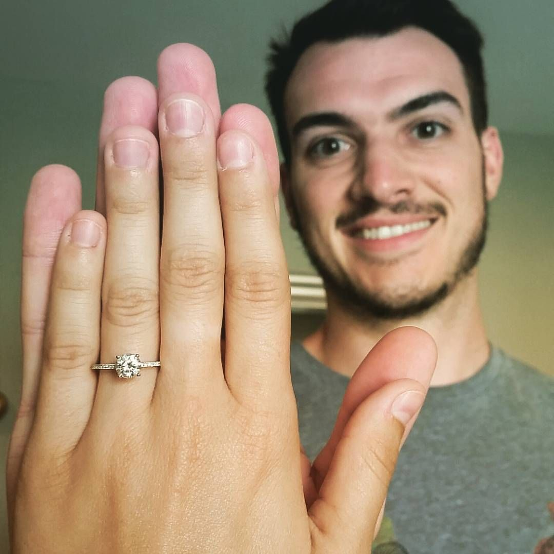 the perfect guy and the perfect ring!
