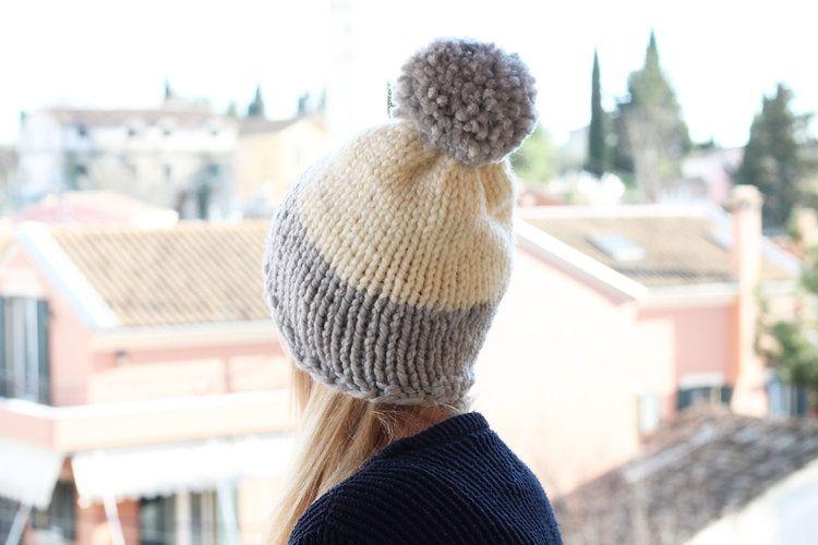 Chunky Bobble Hat Free Knitting Pattern Knitting And Crocheting
