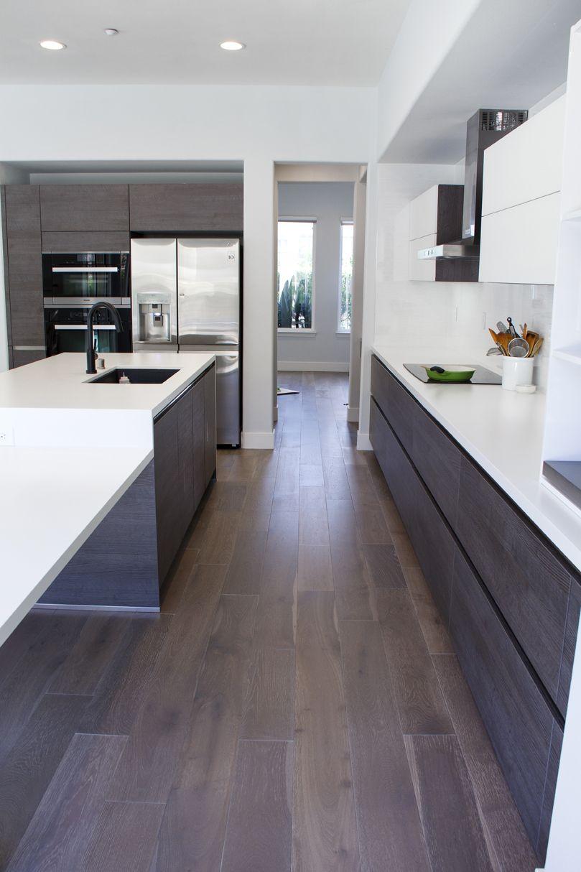 Simi Valley Project | Bauformat | Germany Kitchen Cabinet | Bali 125 Rift  Anthracite Oak |