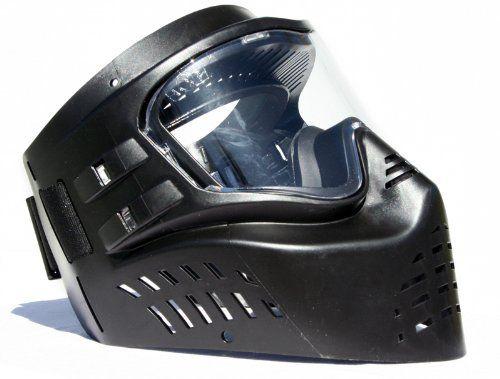 Gen-X Global XVSN Paintball Mask BLACK G-302 XVSN NEW