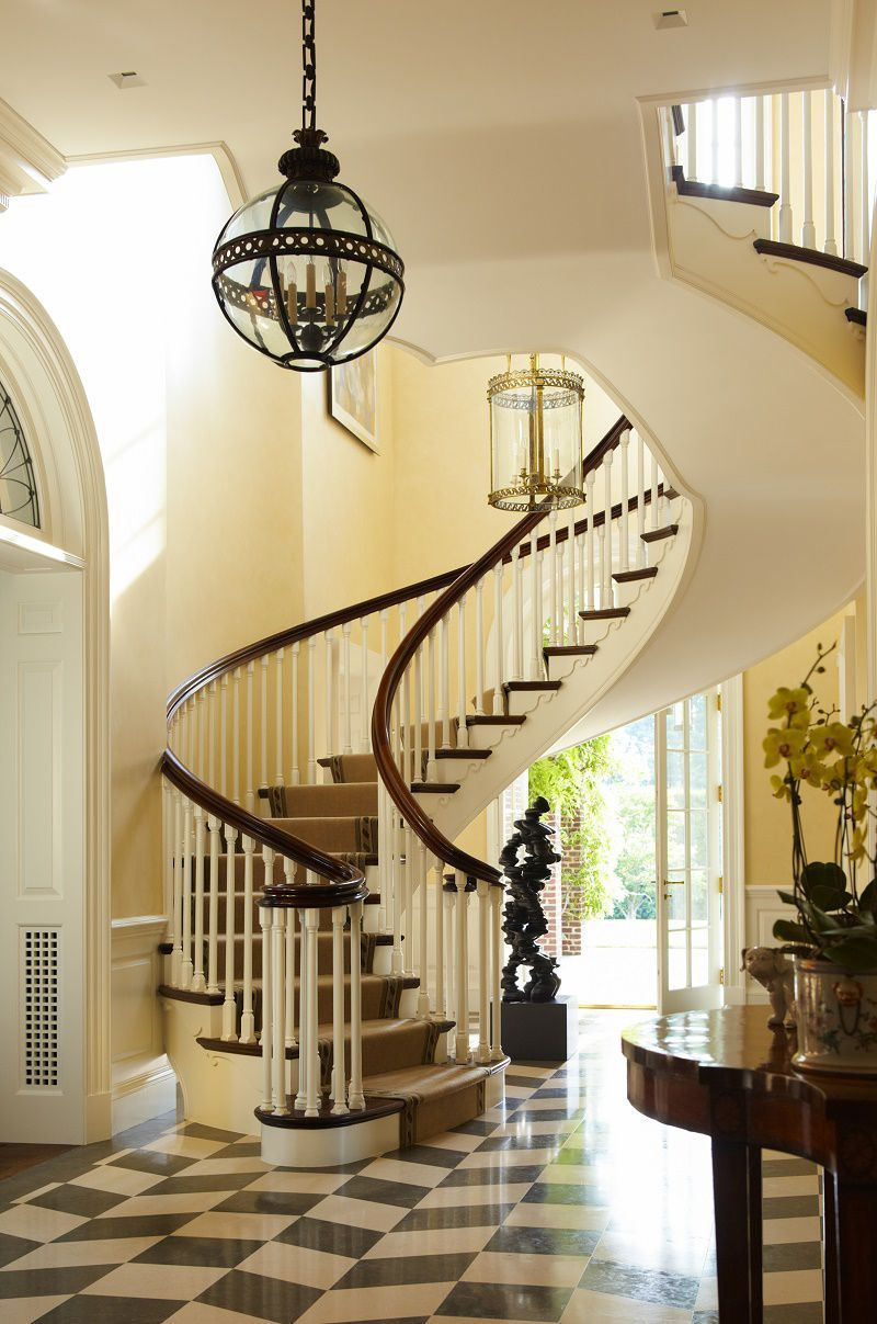 Best Georgian Modern Traditional Elegance Stairs Staircases 400 x 300