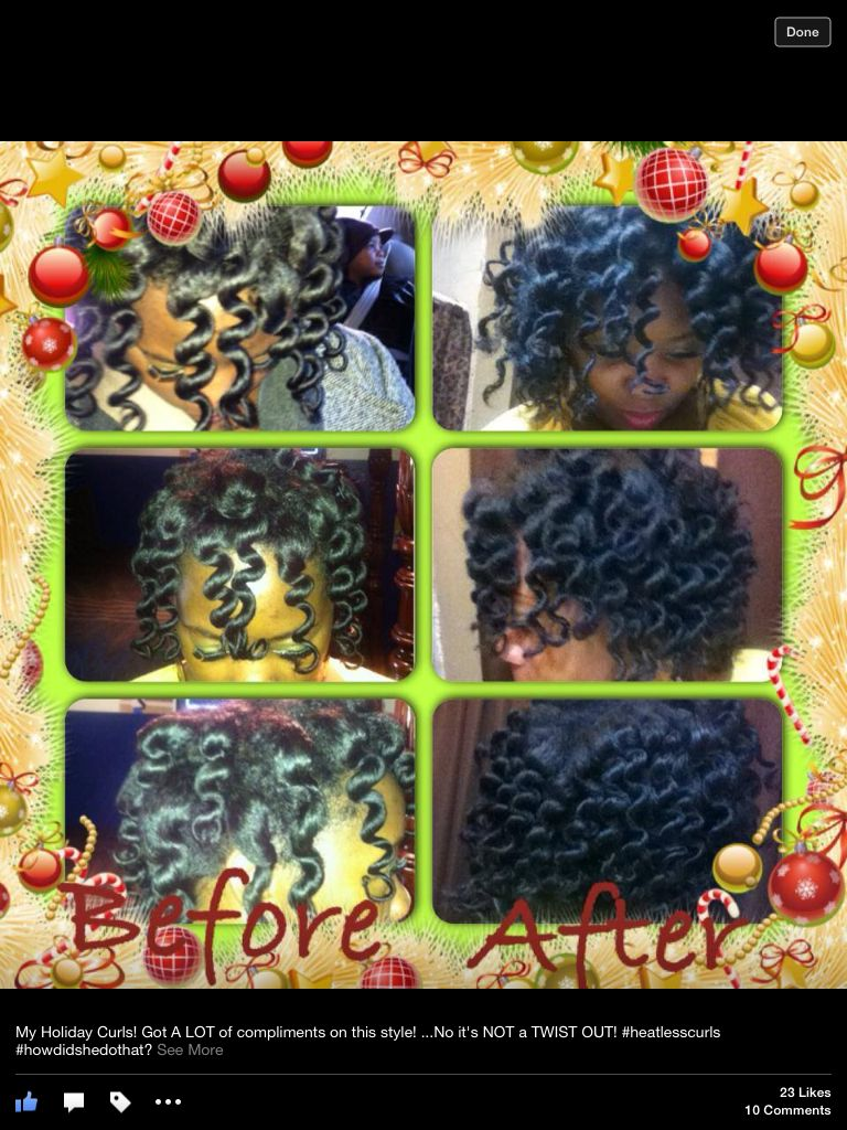 #Bantu Knot Out.......NOT!!!