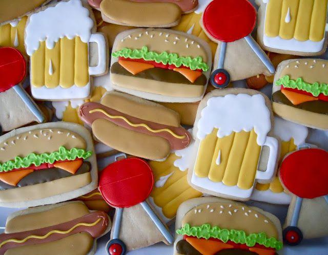 .Oh Sugar Events: Backyard BBQ Cookies