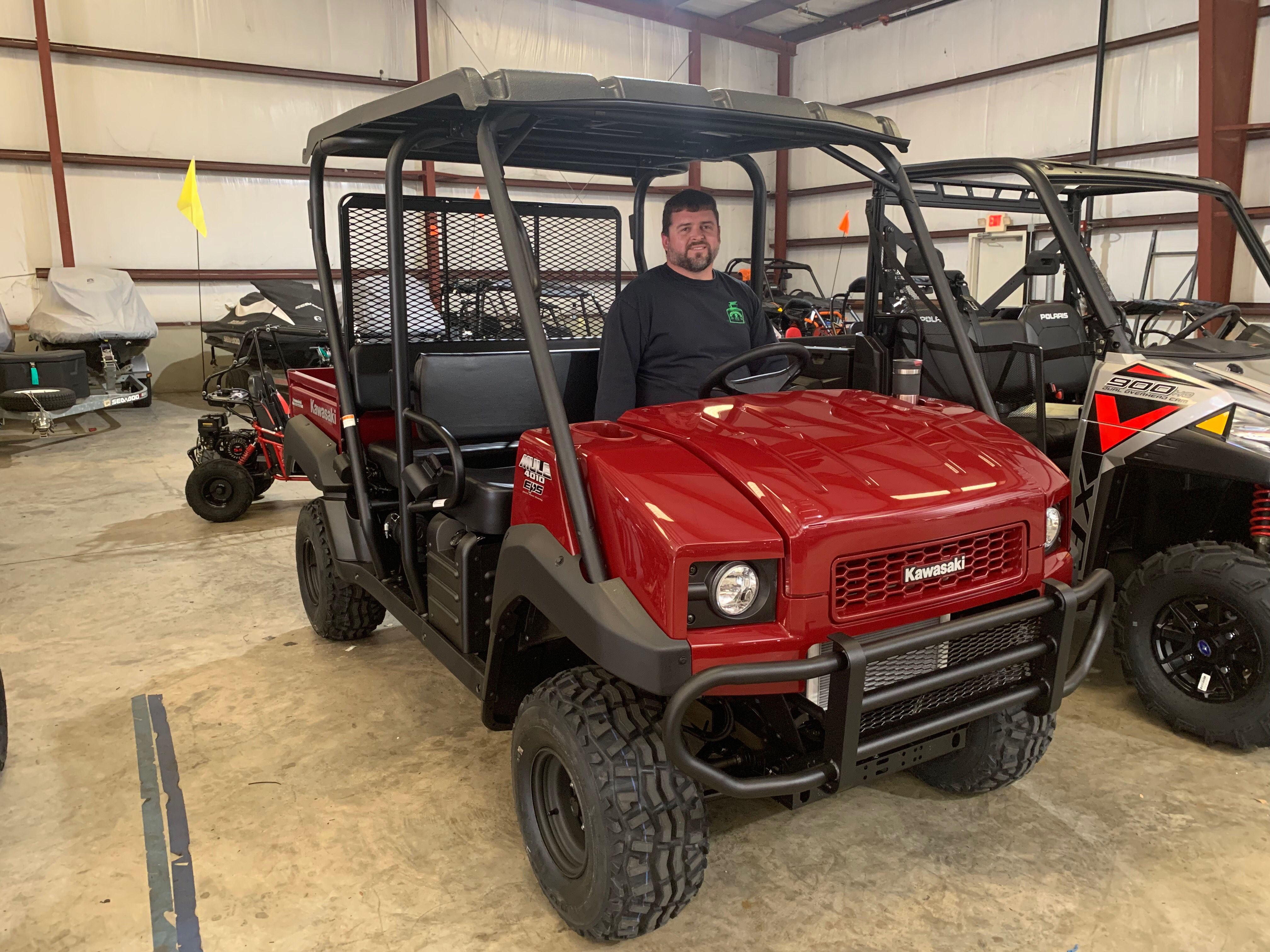 Congratulations to Ian McCoy from Saucier, MS for getting a