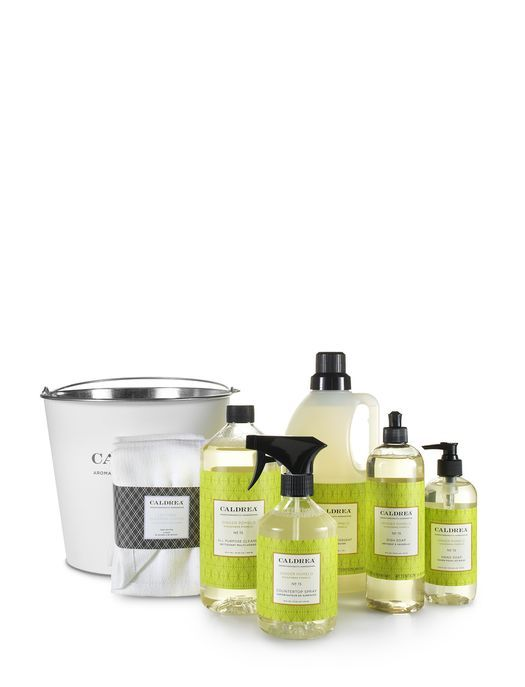 Ginger Pomelo Cleaning Essentials Set The Caldrea Ginger Pomelo Cleaning Essentials Set Contains Everything You Need