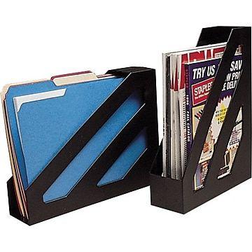 Magazine File Black 2 Pack 10598 Cc Magazine Files Office Supplies List Office Supplies Pens