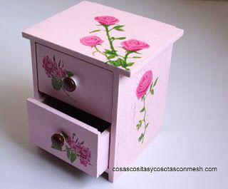 Regalos en decoupage decoupage muebles y todo tipo de for Decoupage con servilletas en muebles