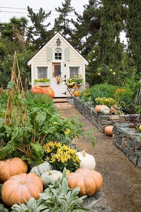 The Most Charming Garden Sheds on Pinterest | Vegetable ...