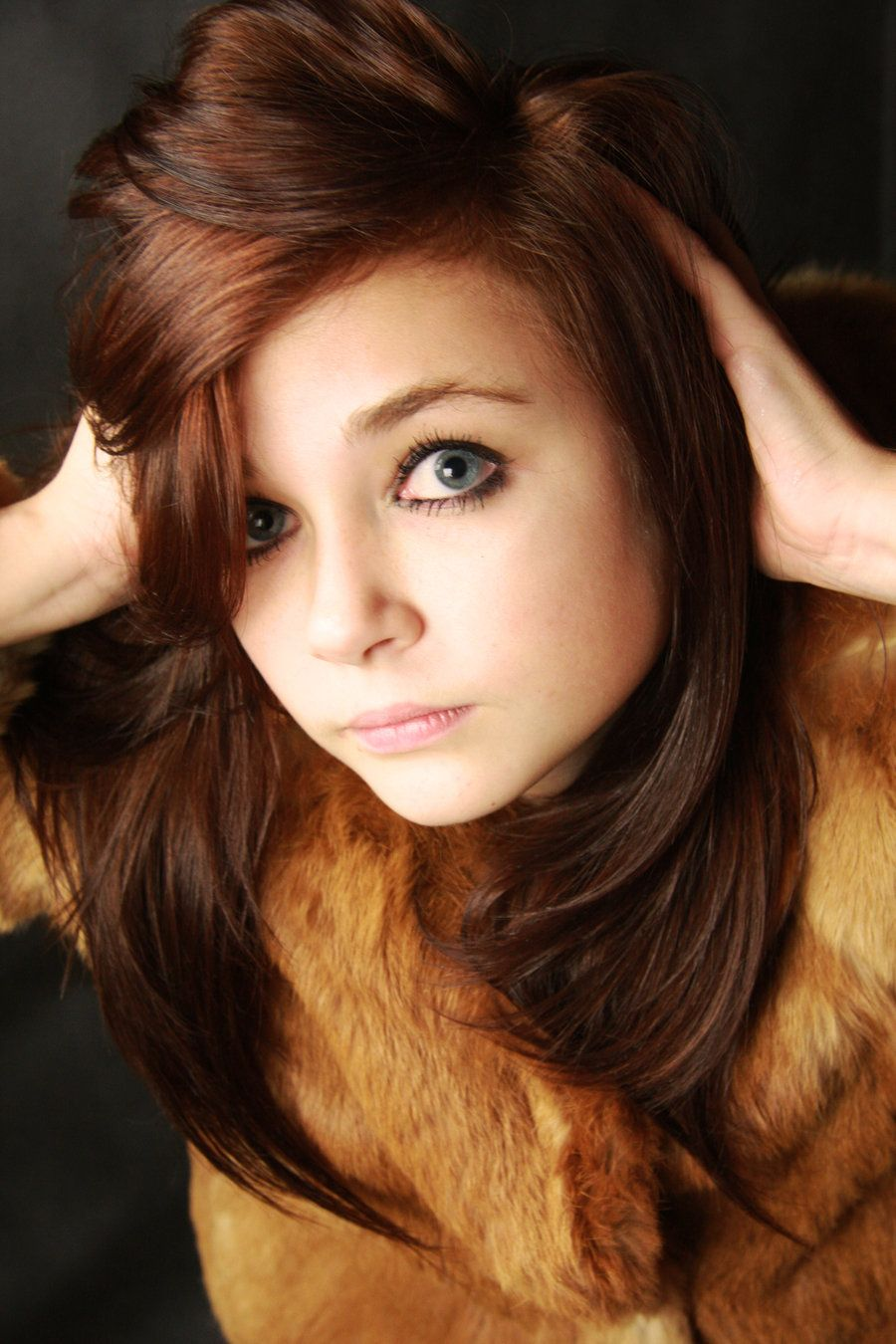 Auburn Hair Color Dyed From Being A Brunet I Like How Its Very