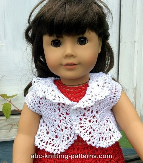 American Girl Doll Vintage Lace Bolero | Dolls - Clothes | Pinterest ...