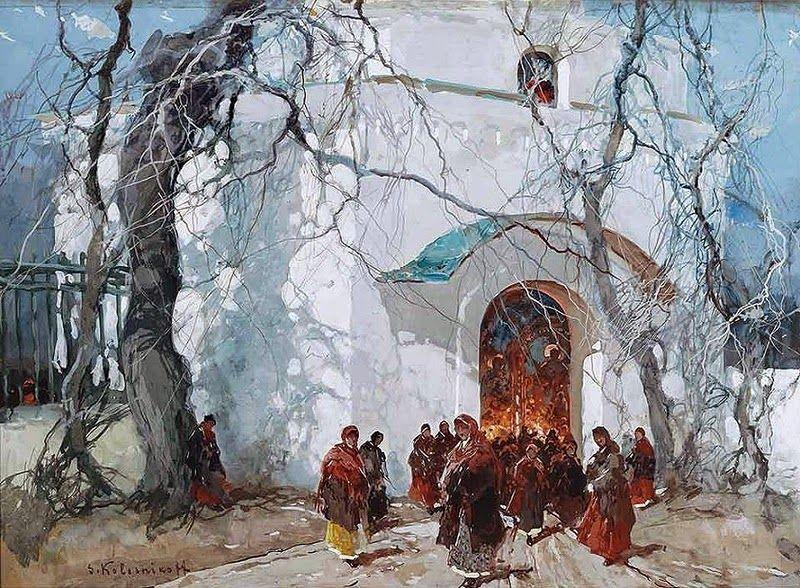 Stepan Fyodorovich KOLESNIKOV (Ukrainian 1879~1955 Serbia)