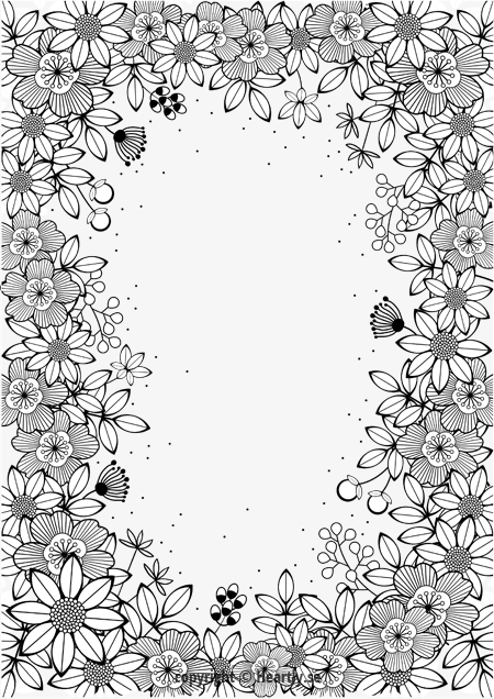 Coloring page book  Mlarbok fr vuxna002 More  Crafting For