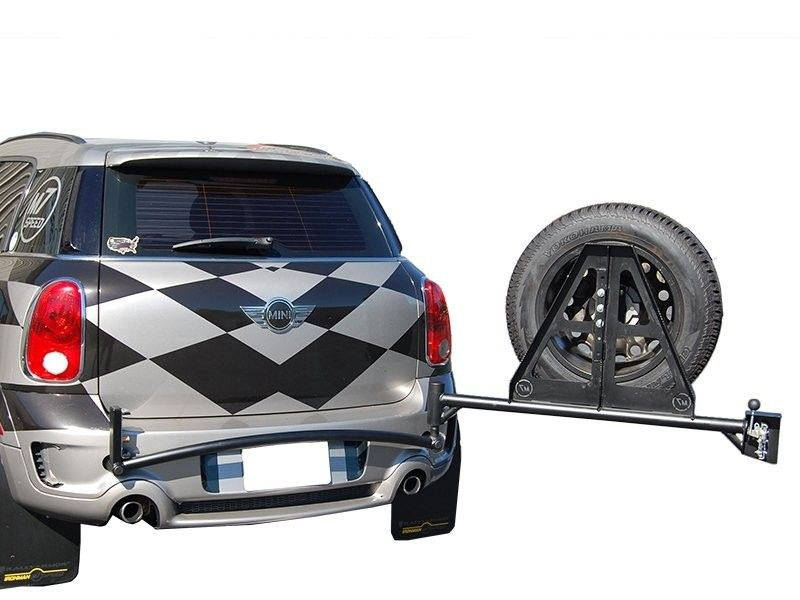 Mini Cooper Countryman Swing Away Tire Carrier M7speed Com Mini Cooper Countryman Mini Cooper Tire
