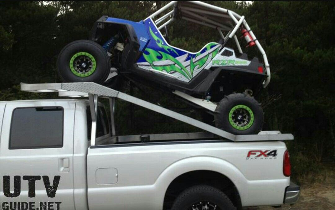 Rzr Transport Rack Rzr Big Boy Toys Monster Trucks