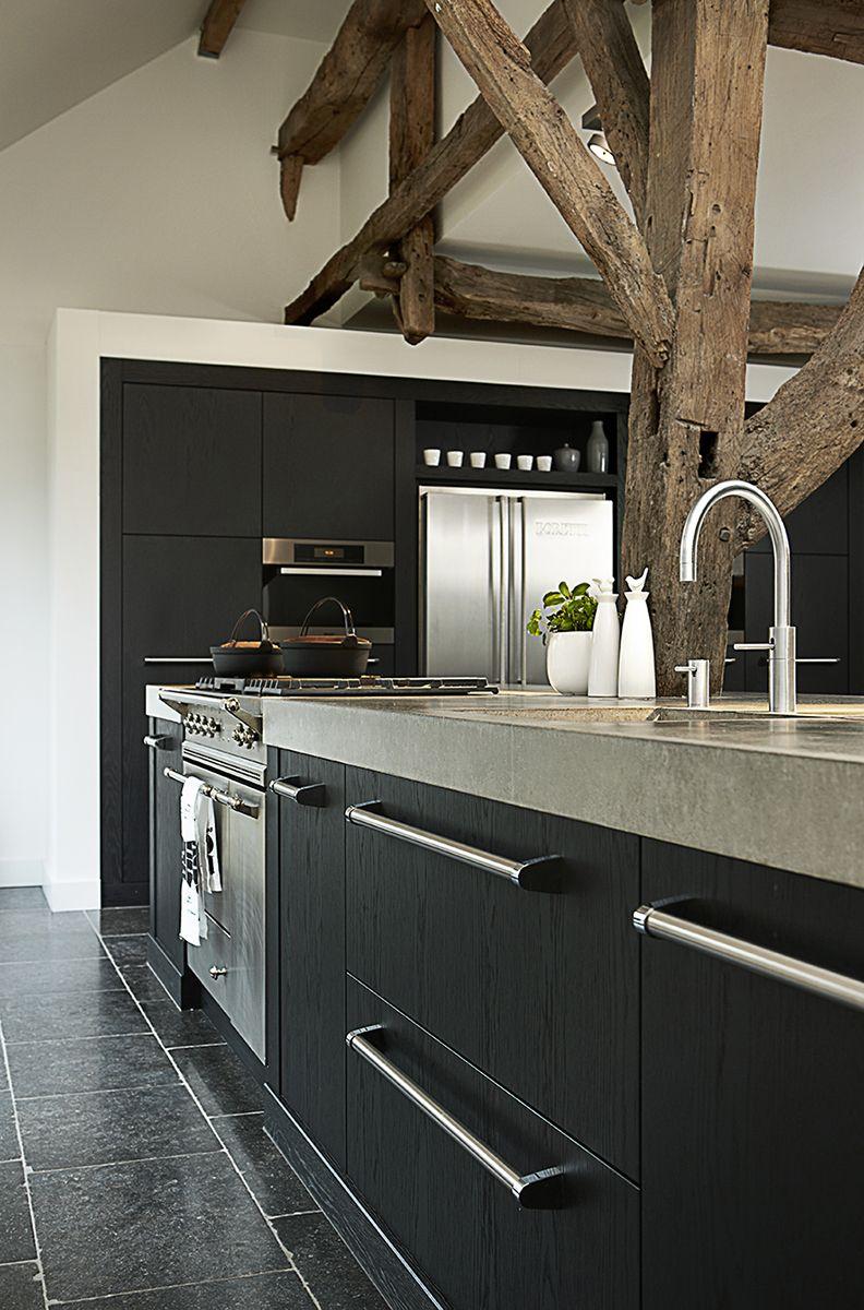 Op zoek naar landelijke keukens eigen fabriek advies aan huis top keuken idee n pinterest - Keuken rustieke grijze ...