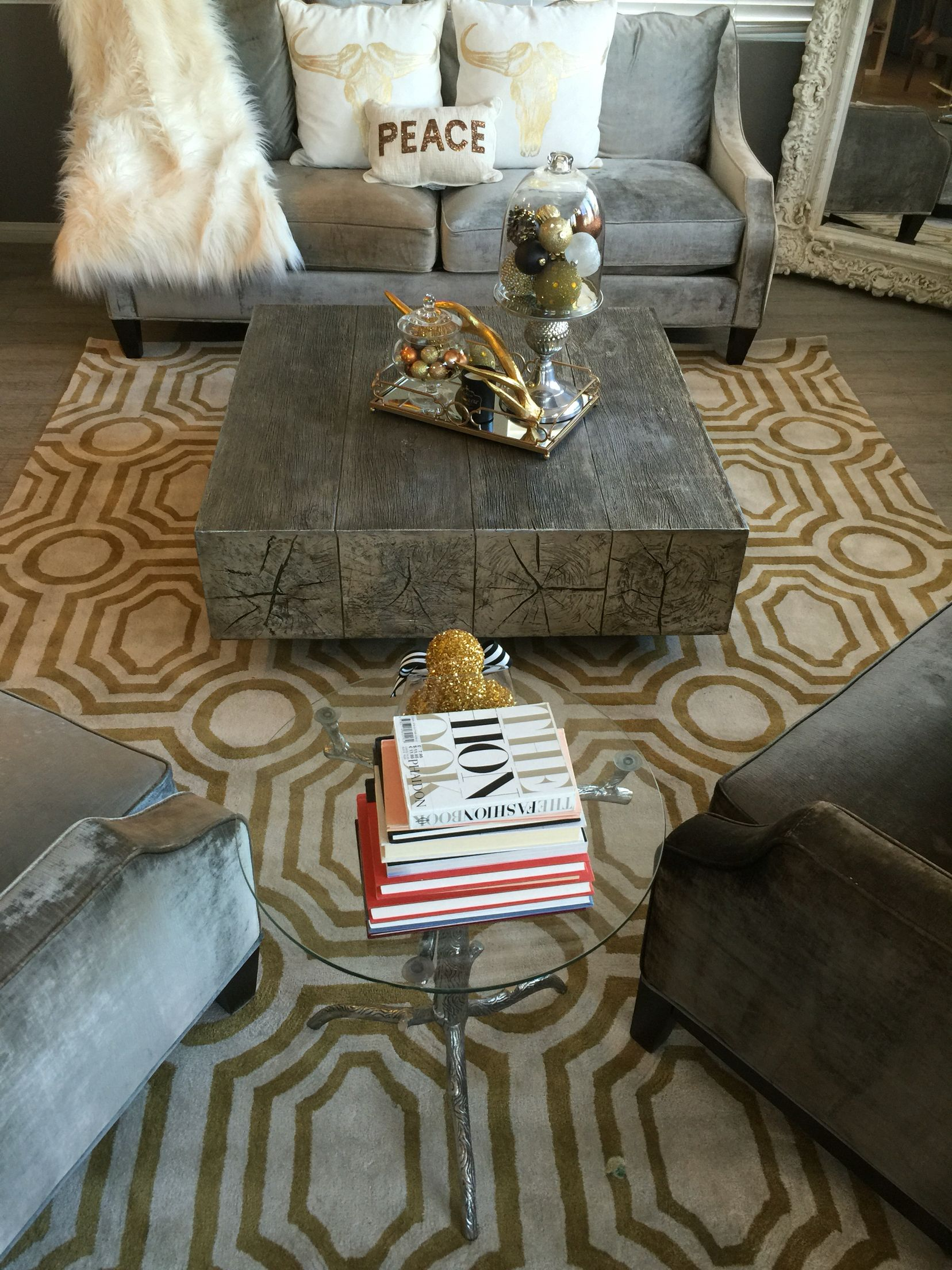 100 Z Gallerie Coffee Table