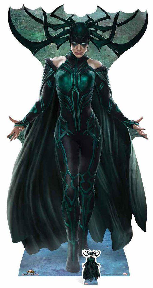 Hela - Arte promocional de Thor: Ragnarok - Hela. °°