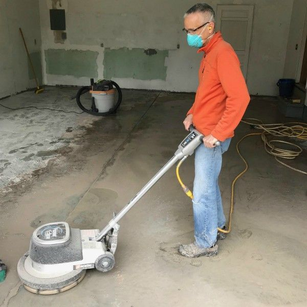 Best How A Pitted Garage Floor Was Renewed In This Diy Nohr S 640 x 480