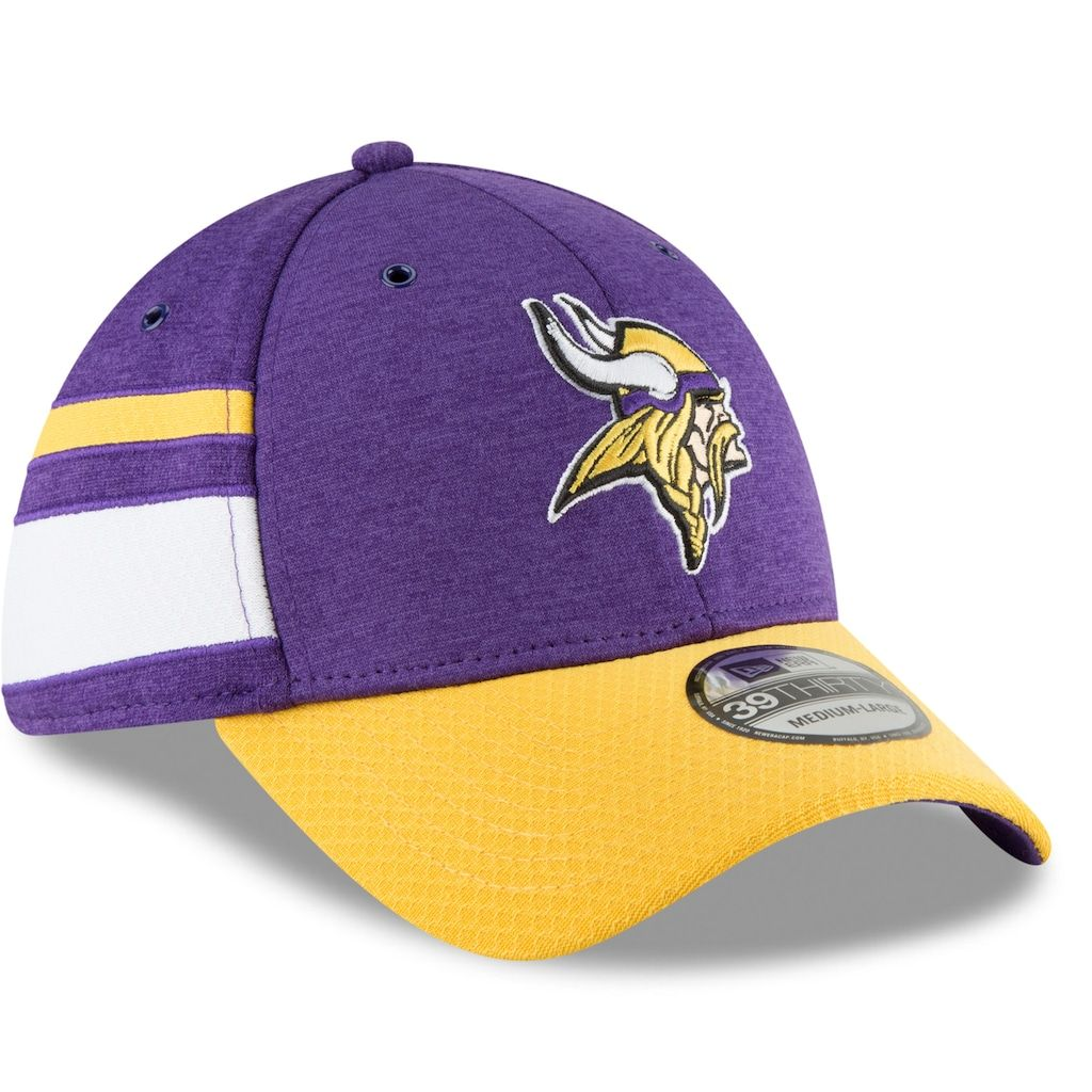 Sideline Home Minnesota Vikings New Era Snapback Cap