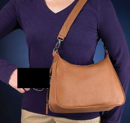 Gun Tote'n Mamas Concealed Carry Hobo Bag