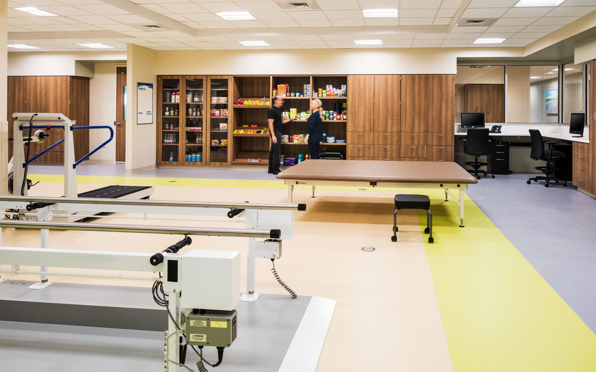 Healthsouth Rehabilitation Hospital Of Cypress Healthcare Interior Design Healthcare Design Hospital