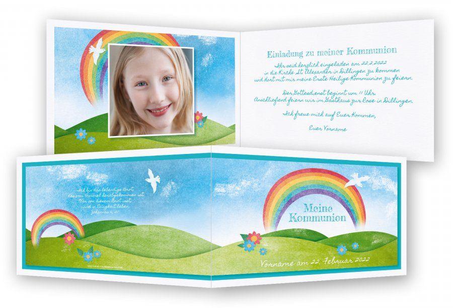 einladungen kommunion | lina | pinterest | einladung kommunion, Einladungen