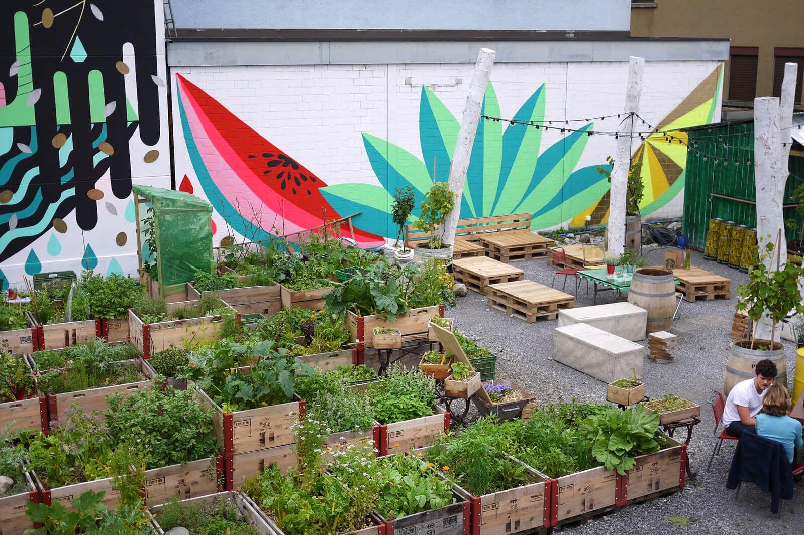 Why Frau Gerolds Garten In Zurich Is An Urban Oasis Urban Garden Garden Projects Urban Oasis