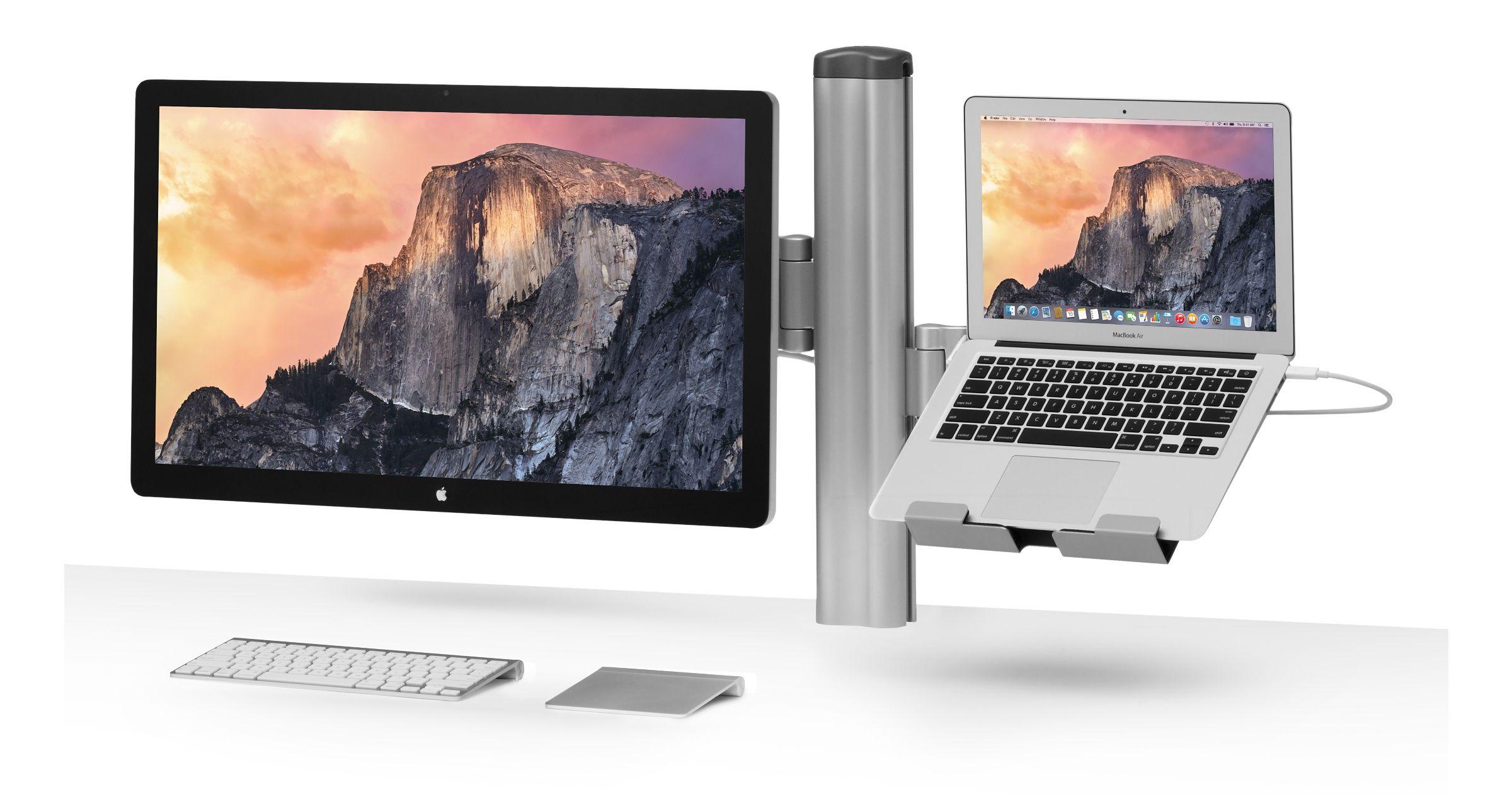 Bretford Mobilepro Desk Mount Combo Imac Mac Mini Imac Desktop