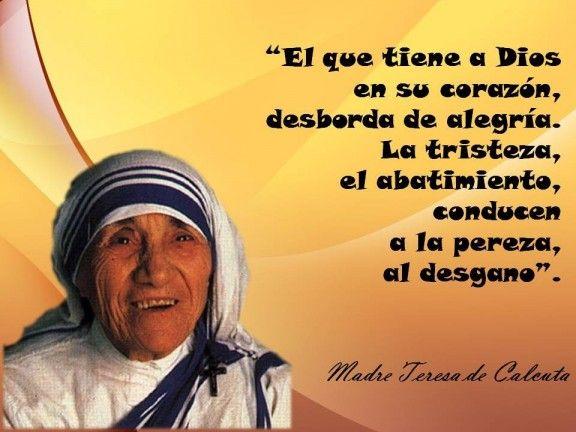 Madre Teresa De Calcuta Teresa De Calcuta Frases Madre Teresa Frases De La Madre Teresa