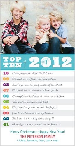 Snapfish Christmas Cards.Yearly Top Ten Christmas Card From Snapfish This Is