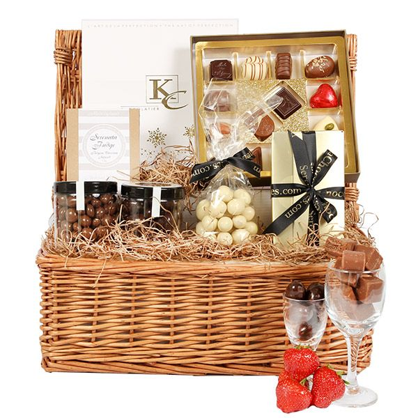 The deluxe chocolate hamper gift delivery uk want pinterest the deluxe chocolate hamper gift delivery uk negle Gallery