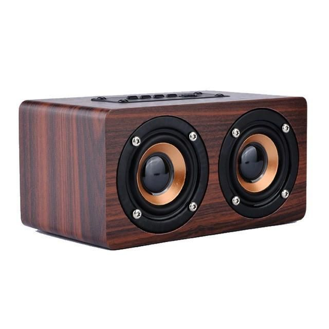 Wooden Bluetooth Speakers For Iphone Wireless Speaker System