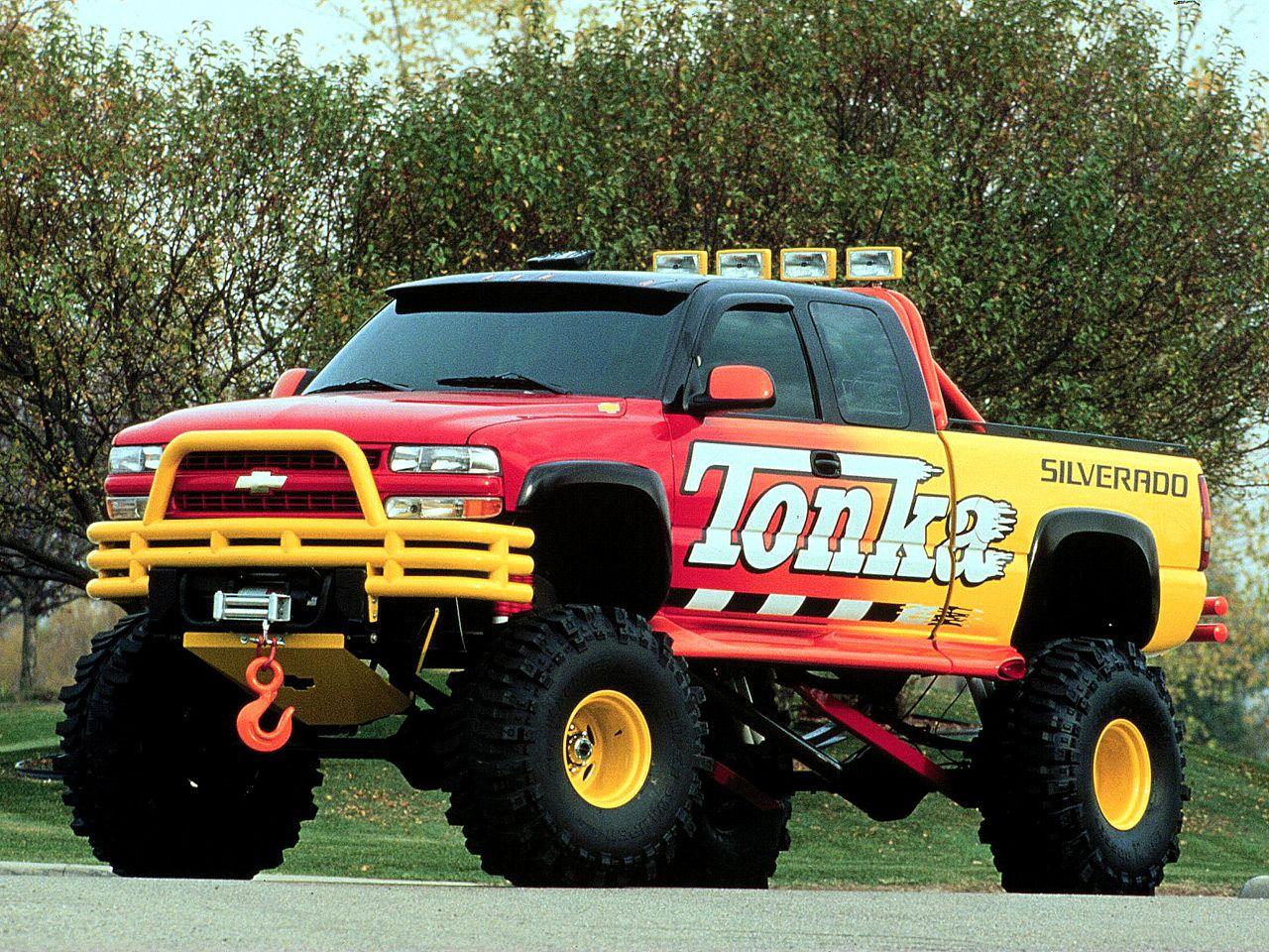 Truck chevy concept truck : Chevrolet Silverado Tonka Truck Concept ( sorta