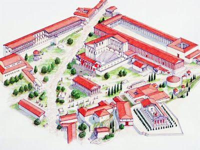 My Architectural Moleskine The Agora Of Athens Urbanism