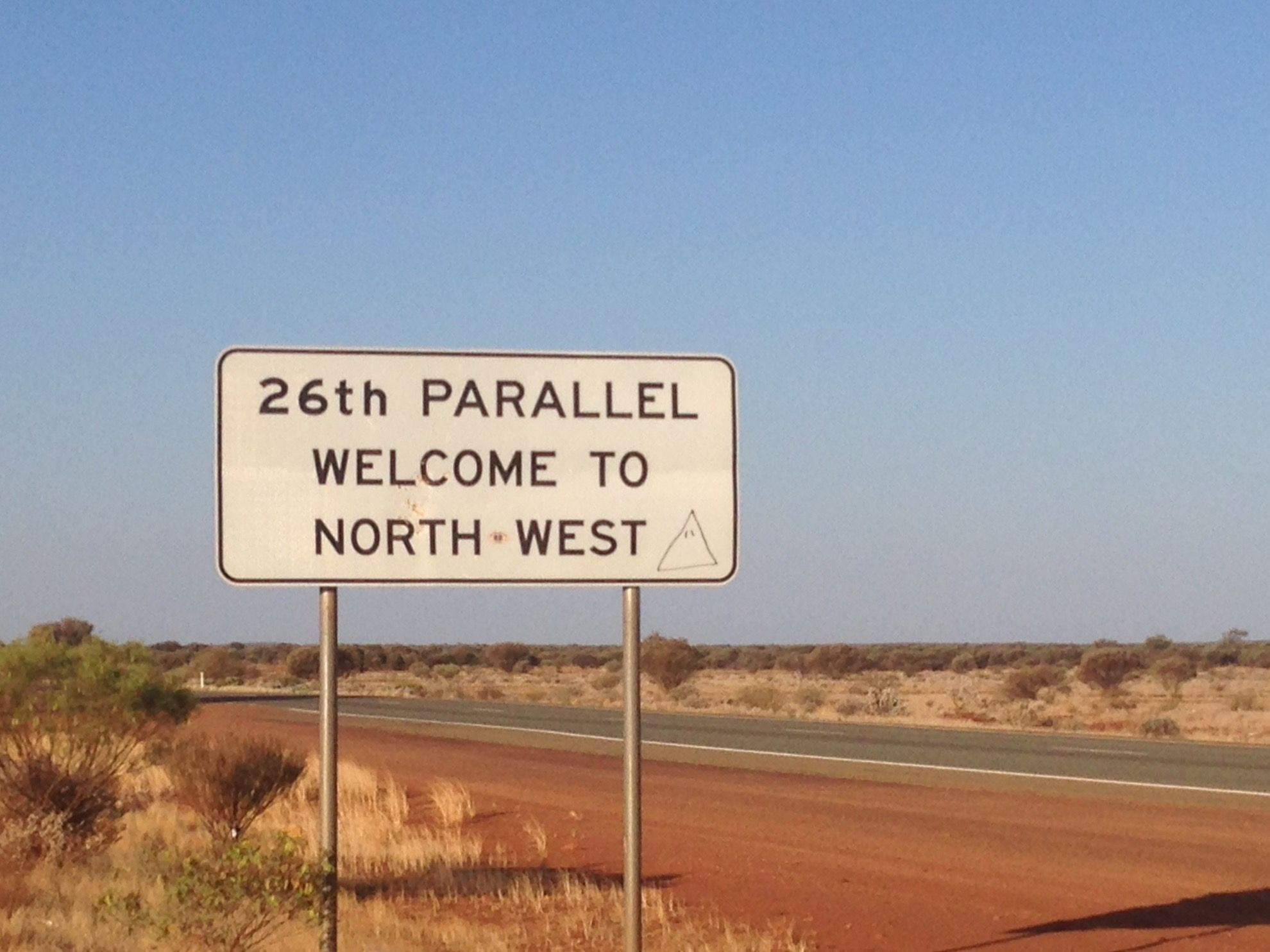 Map Of Australia 26th Parallel.The 26th Parallel Officially Western Australia S North West