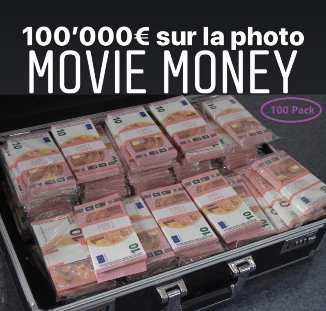 Epingle Sur Movie Money Argent De Film Faux Billet