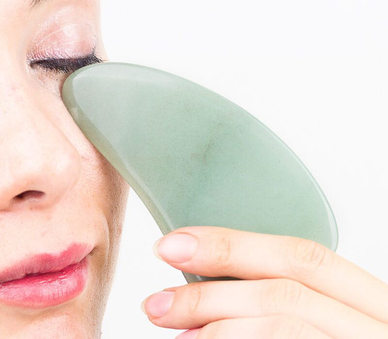 In skilled hands facial gua sha can treat and correct
