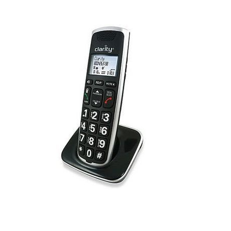 Clarity Cordless Expanding Handset Phone For Bt914 System Black In 2019 Phone Cordless Telephone Bluetooth