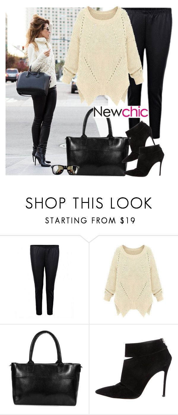 """Chic and comfy - Newchic"" by fashionqueengirl ❤ liked on Polyvore featuring Gianvito Rossi"