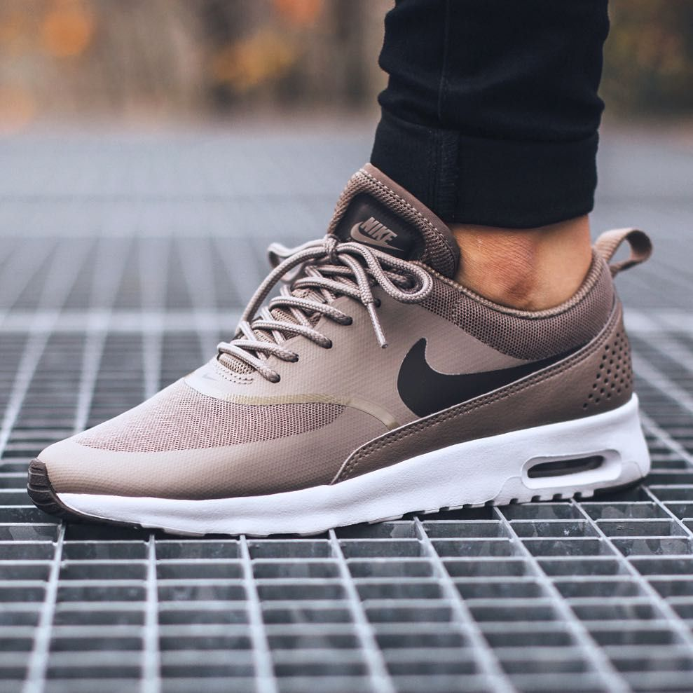 "Titolo Sneaker Boutique on Instagram: ""Nike Wmns Air Max Thea 'Iron/Dark  Storm-White' available in-store and online @titoloshop Zurich 